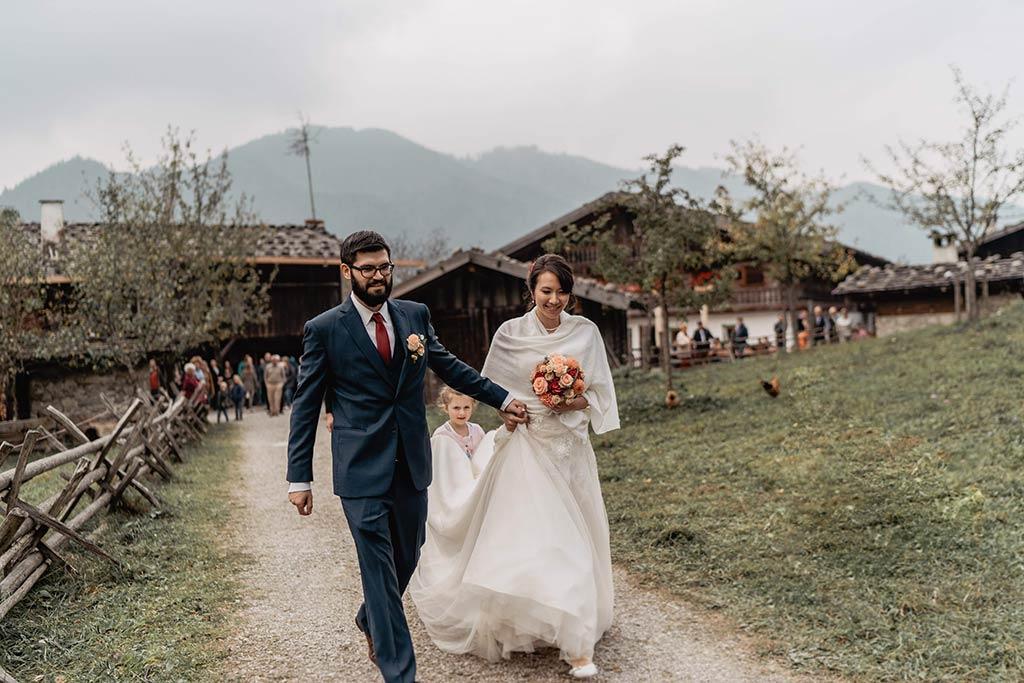Brautpaar Einmarsch
