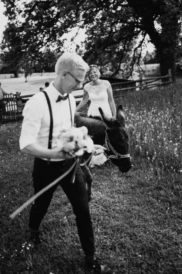 esel brautpaar shooting