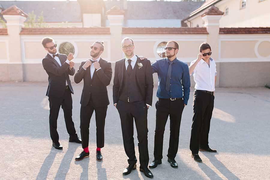 gruppenfoto männer