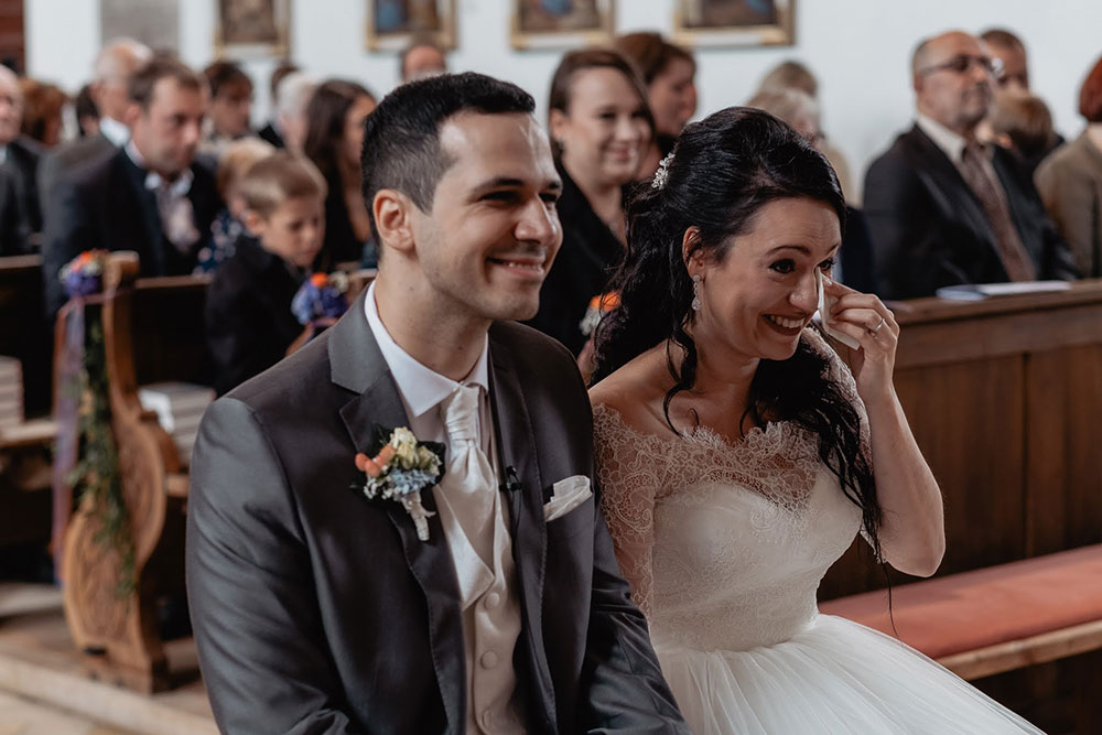 Hochzeit Tränen