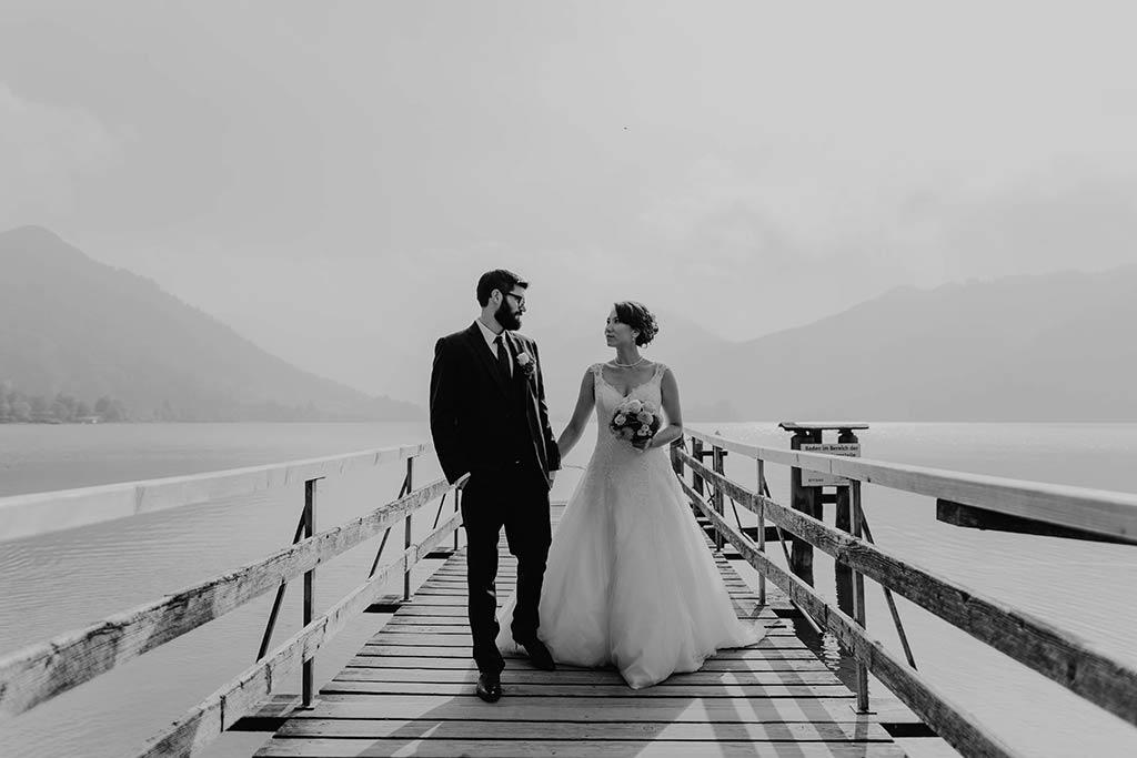 Hochzeitsfotos am Schliersee